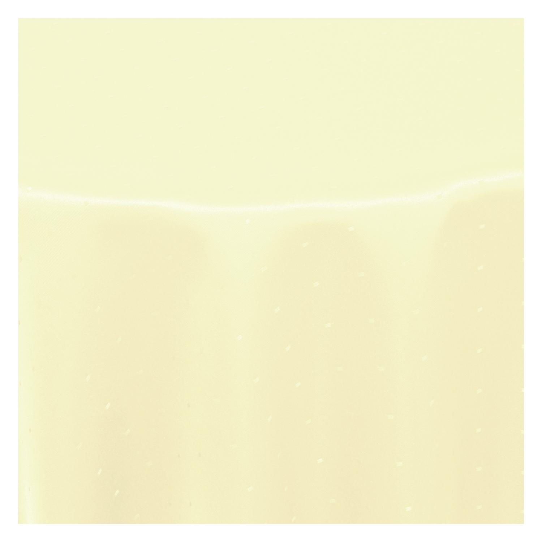 tischdecke punkte dots stoff textil jacquard viele gr e farbe restposten rund ebay. Black Bedroom Furniture Sets. Home Design Ideas