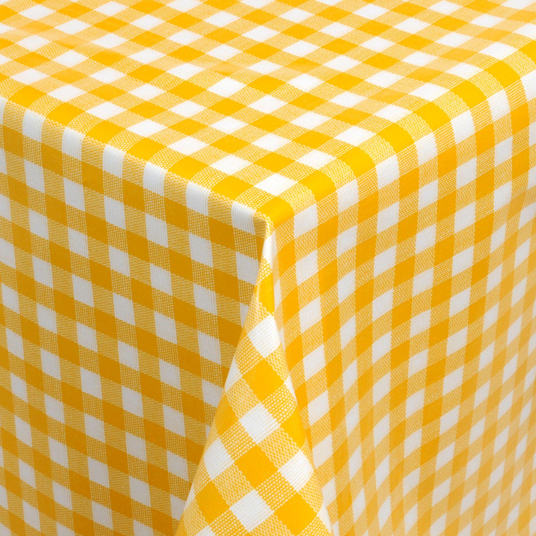 Tischdecke Wachstuch Ø 140 cm  Gartentischdecke abwaschbar verschiedene Farben