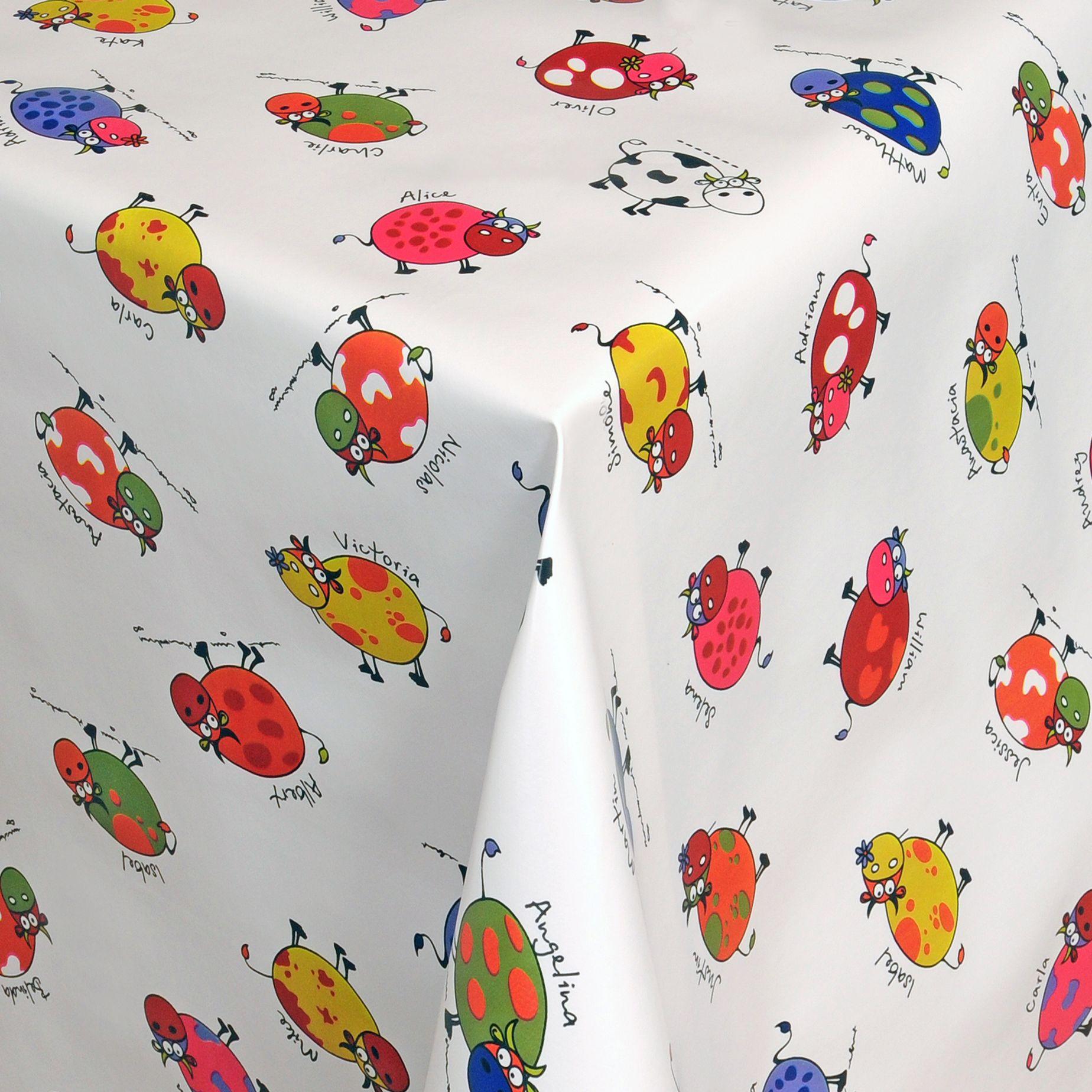 Wachstuch-Tischdecke-Abwischbar-Meterware-Gartendecke-verschiedene-Motive